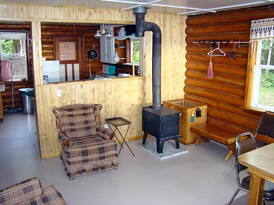 Ontario fishing housekeeping and outpost cabins for Remote cabin plans