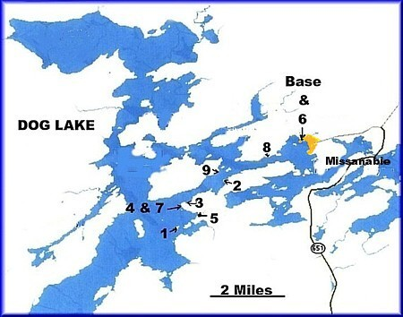 dog lake ontario map Northern Ontario Cottage Rentals Fishing Lodge Boat To Cottages Drive To Lodge dog lake ontario map